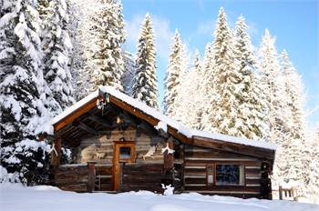 The Ludtke Cottage, Wells Gray Provincial Park